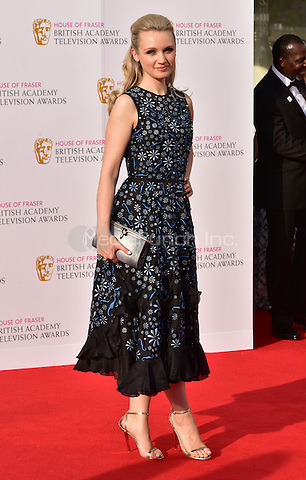 LONDON, ENGLAND - MAY 08: Emily Berrington at he British Academy (BAFTA) Television Awards 2016, Royal Festival Hall, Belvedere Road, London, England, UK, on Sunday 08 May 2016.<br /> CAP/JOR<br /> &copy;JOR/Capital Pictures /MediaPunch ***NORTH AMERICA AND SOUTH AMERICA ONLY***
