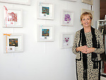 Bernadette Fox pictured with some of her work at the launch of Louth Craftmark at Wogan Interiors. Photo: Colin Bell/pressphotos.ie