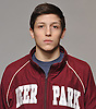 Preston Maucere of Deer Park poses for a portrait during the Newsday wrestling season preview photo shoot at company headquarters on Tuesday, Dec. 13, 2016.