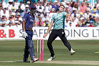 Morne Morkel in bowling action for Surrey during Essex Eagles vs Surrey, Vitality Blast T20 Cricket at The Cloudfm County Ground on 5th August 2018