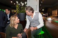 ABN AMRO World Tennis Tournament, Rotterdam, The Netherlands, 13 februari, 2017, Esther Vergeer (NED), Pieter van den Hoogenband (NED)<br /> Photo: Henk Koster