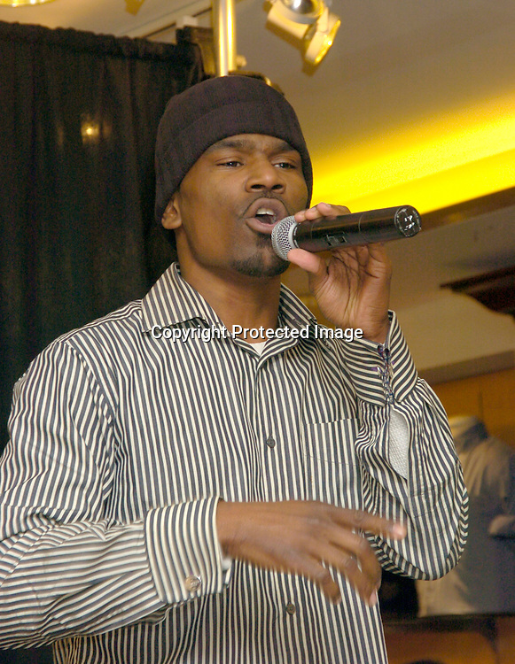 Sony Singer Glenn Lewis ..at a GQ Magazine Las Vegas night party at Bloomingdales ..on March 18, 2004... Photo by Robin Platzer, Twin Images