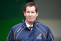 Robbie Deans, Australia Head Coach, during the Cook Cup between England and Australia, part of the QBE International series, at Twickenham on Saturday 17th November 2012 (Photo by Rob Munro)