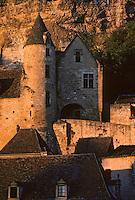 Europe/France/Aquitaine/24/Dordogne/Vallée de la Dordogne/Périgord/Périgord noir/La Roque-Gageac: Manoir de Tarde