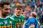 David Clifford, Kerry celebrates after the All Ireland Senior Football Semi Final between Kerry and Tyrone at Croke Park, Dublin on Sunday.