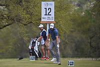 Peter Uihlein (USA) reacts to his tee shot on 12 during day 2 of the World Golf Championships, Dell Match Play, Austin Country Club, Austin, Texas. 3/22/2018.<br /> Picture: Golffile | Ken Murray<br /> <br /> <br /> All photo usage must carry mandatory copyright credit (&copy; Golffile | Ken Murray)