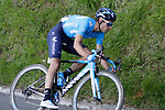 Mikel Landa (ESP) Movistar Team near the end of Stage 5 of the Tour of the Basque Country 2019 running 149.8km from Arrigorriaga to Arrate, Spain. 12th April 2019.<br /> Picture: Colin Flockton | Cyclefile<br /> <br /> <br /> All photos usage must carry mandatory copyright credit (© Cyclefile | Colin Flockton)