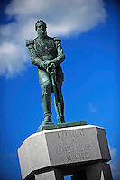 Namesake of the town, a statue of War of 1812 British Colonel Charles de Salaberry stands tall in the center of the pits.