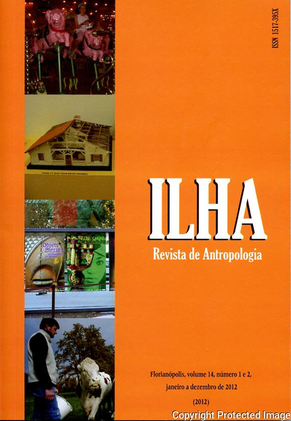 Dans la revue d'anthropologie brésilienne ILHA, de l'Université de Santa Catarina, Florianopolis, avec l'ethnologue Jérémy Deturche.