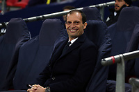Juventus coach Massimiliano Allegri during Tottenham Hotspur vs Juventus, UEFA Champions League Football at Wembley Stadium on 7th March 2018