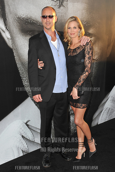 "Director Gavin O'Connor & Brooke Burns at the world premiere of his new movie ""Warrior"" at the Arclight Theatre, Hollywood..September 6, 2011  Los Angeles, CA.Picture: Paul Smith / Featureflash"
