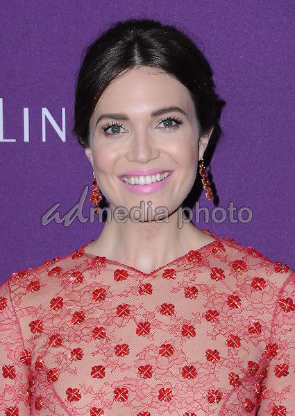 21 February 2017 - Beverly Hills, California - Mandy Moore.  19th Costume Designers Guild Awards held at The Beverly Hilton Hotel. Photo Credit: Birdie Thompson/AdMedia