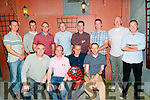 Mike the Pie's Golf Society: Pictured at Mike the Pie's Golf Society Captain's prize night at Mike the Pie's Bar, Listowel on Saturday night last in aid  of Listowel Hospital were in front Mark Hobbert, Tommy Canavan,  Captain, T. J. Galvin, Golfer of the Year & Thoe Lynch, incoming Captain. Back : Keith Browne, Jonathan Kelliher, Tom O'Connor, Winner, Mike Canavan, Jr., John O'Connor, Keith Enright, Dan Molyneaux & Mike Canavan.
