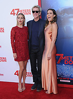 "12 June 2017 - Westwood, California - Claire Holt, Matthew Modine, Mandy Moore. ""47 Meters Down"" Los Angeles Premiere held at Regency Village Theatre in Westwood. Photo Credit: Birdie Thompson/AdMedia"