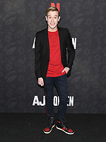 "10 January 2020 - Beverly Hills, California - Tyler Henry. Netflix's ""AJ And The Queen"" Season 1 Premiere at The Egyptian Theatre in Hollywood. Photo Credit: Billy Bennight/AdMedia"