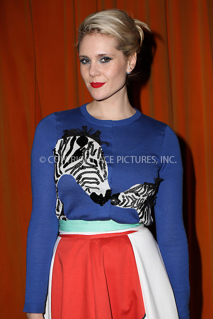 WWW.ACEPIXS.COM<br /> <br /> February 16, 2015 New York City<br /> <br /> Kate Nash at the alice + olivia by Stacey Bendet fashion presentation on February 16, 2015 in New York City. <br /> <br /> By Line: Nancy Rivera/ACE Pictures<br /> <br /> <br /> ACE Pictures, Inc.<br /> tel: 646 769 0430<br /> Email: info@acepixs.com<br /> www.acepixs.com