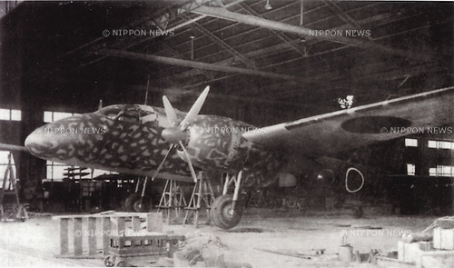 Undated - Ki-109 was Japanese Prototype aircraft in World War II. (Photo by Kingendai Photo Library/AFLO)