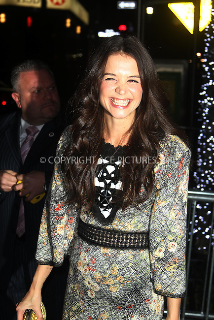 WWW.ACEPIXS.COM....November 29 2012, New York City....Actress Katie holmes arrives at the after party for the opening night of her new play 'Dead Accounts' on November 29 2012 in New York City......By Line: Zelig Shaul/ACE Pictures......ACE Pictures, Inc...tel: 646 769 0430..Email: info@acepixs.com..www.acepixs.com