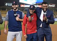 10/27/18 - Los Angeles:  World Series on Fox - Game 4 - Boston Red Sox vs LA Dodgers - Postgame