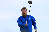 Jonathan Gourley (Shannon Park) on the 10th tee during Round 4 of The East of Ireland Amateur Open Championship in Co. Louth Golf Club, Baltray on Monday 3rd June 2019.<br /> <br /> Picture:  Thos Caffrey / www.golffile.ie<br /> <br /> All photos usage must carry mandatory copyright credit (© Golffile | Thos Caffrey)