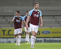 Burnleys players look dejected<br /> <br /> Photographer Mick Walker/CameraSport<br /> <br /> The Carabao Cup Round Three   - Burton Albion  v Burnley - Tuesday  25 September 2018 - Pirelli Stadium - Buron On Trent<br /> <br /> World Copyright &copy; 2018 CameraSport. All rights reserved. 43 Linden Ave. Countesthorpe. Leicester. England. LE8 5PG - Tel: +44 (0) 116 277 4147 - admin@camerasport.com - www.camerasport.com