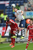 09/08/2015 Sky Bet League Championship Preston North End v Middlesbrough <br /> Joe Garner