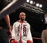 Jesus Pabon  gano por ko en el asalto 1 asi quedandose con el titulo latino de la organizacion mundial de boxeo