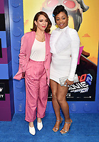 WESTWOOD, CA - FEBRUARY 02:  Maya Rudolph (L) and Tiffany Haddish attend the Premiere Of Warner Bros. Pictures' 'The Lego Movie 2: The Second Part' at Regency Village Theatre on February 2, 2019 in Westwood, California.<br /> CAP/ROT/TM<br /> &copy;TM/ROT/Capital Pictures