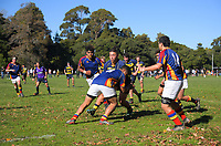 Action from the Transit Coachlines 1st XV Festival rugby union match between Wairarapa College and Tawa College at Rathkeale College in Masterton, New Zealand on Saturday, 4 May 2019. Photo: Dave Lintott / lintottphoto.co.nz