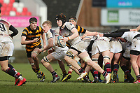 Wednesday 7th March 2018 |  RBAI vs Royal School Armagh<br /> <br /> Ryan O'neill during the Ulster Schools Cup Semi-Final between RBAI vs Royal School Armagh Stadium, Ravenhill Park, Belfast, Northern Ireland. Photo by John Dickson / DICKSONDIGITAL