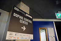 Picture by Simon Wilkinson/SWpix.com 03/03/2018 - Cycling 2018 UCI Track Cycling World Championships, Apeldoorn, The Netherlands - Day 4 - Doping Control Centre signage