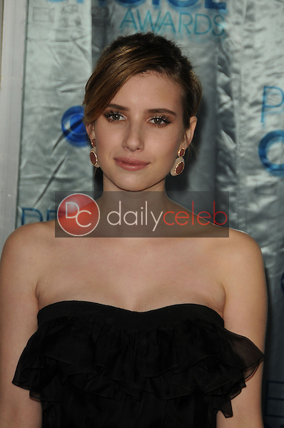 Emma Roberts<br /> at the 2011 People's Choice Awards - Arrivals, Nokia Theatre, Los Angeles, CA. 01-05-11<br /> David Edwards/DailyCeleb.com 818-249-4998