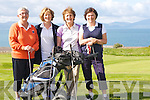 LADYCAPTS: On Saturday the Lady Capt of Ballyheigue Castle Golf Club held her Golf Day, playing with tyhe capt, L-r: Jane Lewis, Sheila McCarthy( LadyCapt),Jenna leen and Helen Crowley.....