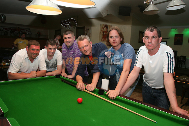 Fusion A Team, John McCane, Karl O'Donoghue, Peter O' Donoghue, Andrew McCartney, Captain Noel Tubridy and Mark Farrelly (missing from photo is Dave McQuillan)...Photo NEWSFILE/Jenny Matthews.(Photo credit should read Jenny Matthews/NEWSFILE)....This Picture has been sent you under the condtions enclosed by:.Newsfile Ltd..The Studio,.Millmount Abbey,.Drogheda,.Co Meath..Ireland..Tel: +353(0)41-9871240.Fax: +353(0)41-9871260.GSM: +353(0)86-2500958.email: pictures@newsfile.ie.www.newsfile.ie.FTP: 193.120.102.198.