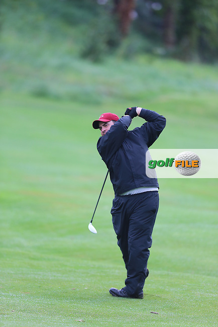 Cathal Patton (Strabane) during the Ulster Mixed Foursomes Final, Shandon Park Golf Club, Belfast. 19/08/2016<br /> <br /> Picture Jenny Matthews / Golffile.ie<br /> <br /> All photo usage must carry mandatory copyright credit (&copy; Golffile | Jenny Matthews)