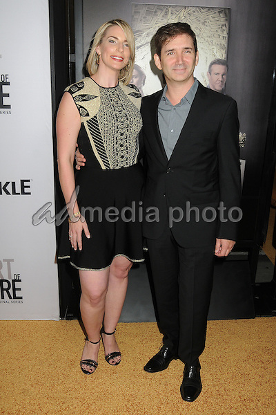 "29 October 2015 - Culver City, California - Tamara Chestna, Chuck Rose. ""The Art Of More"" Series Premiere held at Sony Pictures Studios. Photo Credit: Byron Purvis/AdMedia"