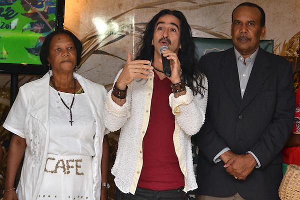 Rueda de prensa en la que se anuncio la novena versión del Festival de Café Orgánico, a realizarse en el municipio de Polo en Barahona..Foto: Ariel Díaz-Alejo/acento.com.do.Fecha: 09/05/2013.