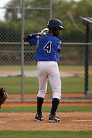 Luis Alcala participates in the Dominican Prospect League showcase at the New York Yankees academy on January 19,2013 in Boca Chica, Dominican Republic.