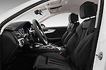 Front seat view of 2017 Audi A4-Allroad Design-Luxe 5 Door wagon Front Seat  car photos