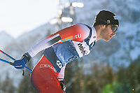 1st January 2020, Toblach, South Tyrol , Italy;  Sjur Rothe of Norway competes in the mens 15 km classic technique pursuit during Tour de Ski on January 1, 2020 in Toblach.
