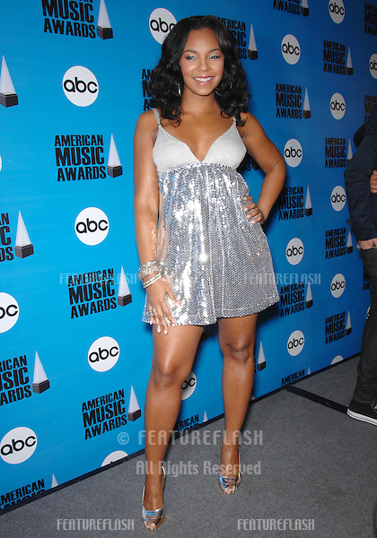 Ashanti at the nominations annoucement for the 2007 American Music Awards which are to be presented at the Nokia Theatre in Los Angeles on November 18th..October 9, 2007  Los Angeles, CA.Picture: Paul Smith / Featureflash