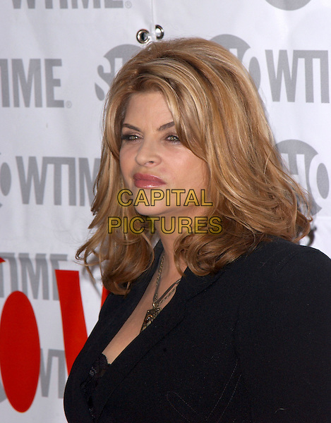 KIRSTIE ALLEY.attends ShowtimeÕs TCA Press Tour Party held at Stage 6 at Universal Studios in Universal City, California, USA, January 12th 2005.portrait headshot.Ref: DVS.www.capitalpictures.com.sales@capitalpictures.com.©Debbie VanStory/Capital Pictures .