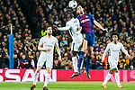 Sergio Busquets Burgos (R) of FC Barcelona competes for the ball with N'Golo Kante of Chelsea FC during the UEFA Champions League 2017-18 Round of 16 (2nd leg) match between FC Barcelona and Chelsea FC at Camp Nou on 14 March 2018 in Barcelona, Spain. Photo by Vicens Gimenez / Power Sport Images