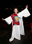 "Catherine Ricafort during The Opening Night Actors' Equity Gypsy Robe Ceremony honoring Catherine Ricafort for the New Broadway Production of  ""Miss Saigon""  at the Broadway Theatre on March 23, 2017 in New York City"