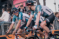 Adam Hansen (AUS/Lotto-Soudal) just finished his 20th consecutive Grand Tour!!<br /> That would be 420 (!!) consecutive GT stages finished.........<br /> <br /> stage 21: Roma - Roma (115km)<br /> 101th Giro d'Italia 2018