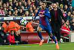 Nelson Cabral Semedo of FC Barcelona in action during the La Liga 2017-18 match between FC Barcelona and Girona FC at Camp Nou on 24 February 2018 in Barcelona, Spain. Photo by Vicens Gimenez / Power Sport Images