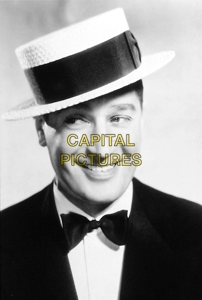 MAURICE CHEVALIER.* Editorial Use Only*.headshot portrait hat bow tie.CAP/STF/KHE.Supplied by Capital Pictures.