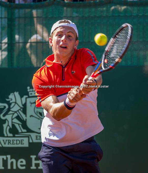 The Hague, Netherlands, 17 July, 2017, Tennis,  The Hague Open, Tallon Griekspoor (NED)<br /> Photo: Henk Koster/tennisimages.com