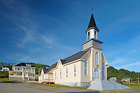 Catholic church<br /> La Martre<br /> Quebec<br /> Canada