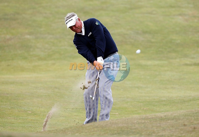 Darren Clarke (NIR) in action during the first round of the 140th Open Championship played at Royal St George's Golf Club on 14th July 2011 in Sandwich, Kent, England (Picture Credit / Phil INGLIS /www.golffile.ie